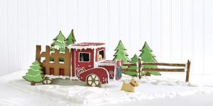 Gingerbread Landscape & Truck
